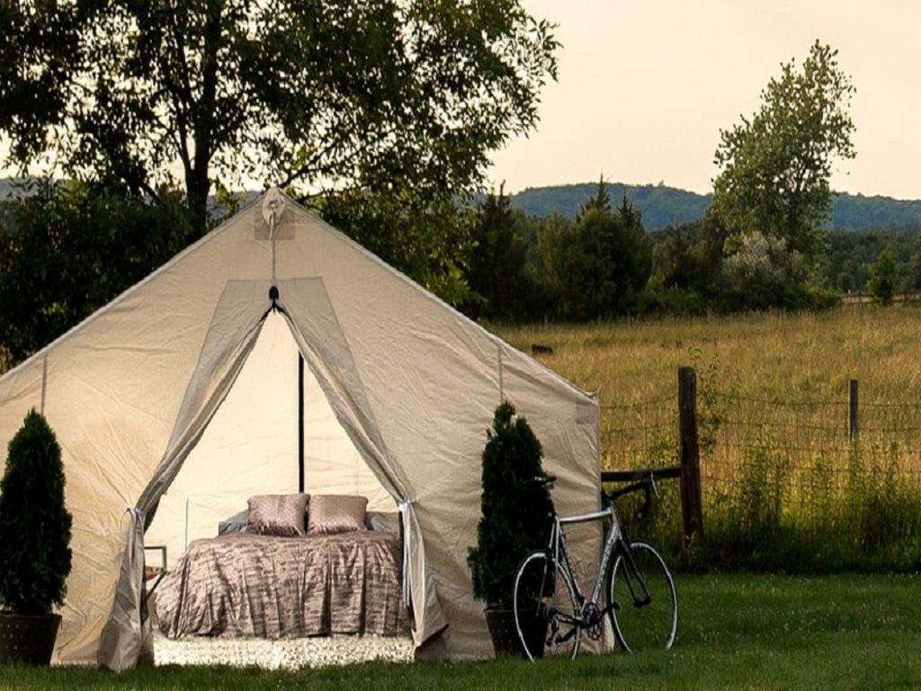 Luxury tent rental perfect for NY getaways