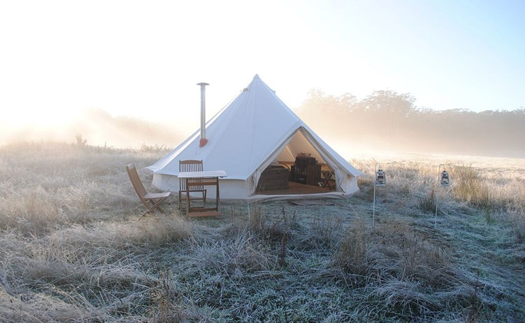 luxury yurts in Victoria for overnight trips from Melbourne