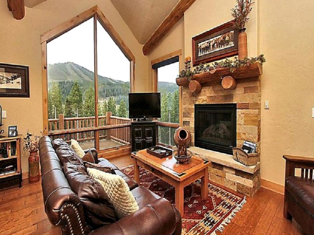 interior of winter park lodging in colorado