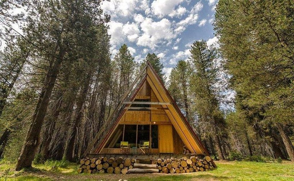 a frame cabins and some of the best houses for rent in California