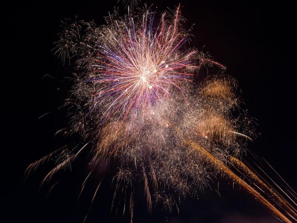 fireworks during the best things to do on new year's eve 2020