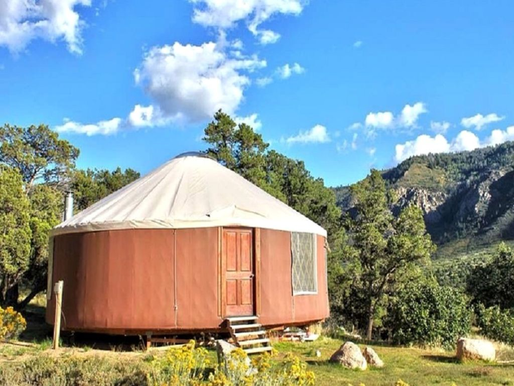 Colorado yurt and one of the best gifts for frequent travelers this Valentines