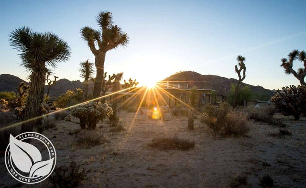 Preview of Joshua Tree glamping, ideal for the best places to go in Easter 2020
