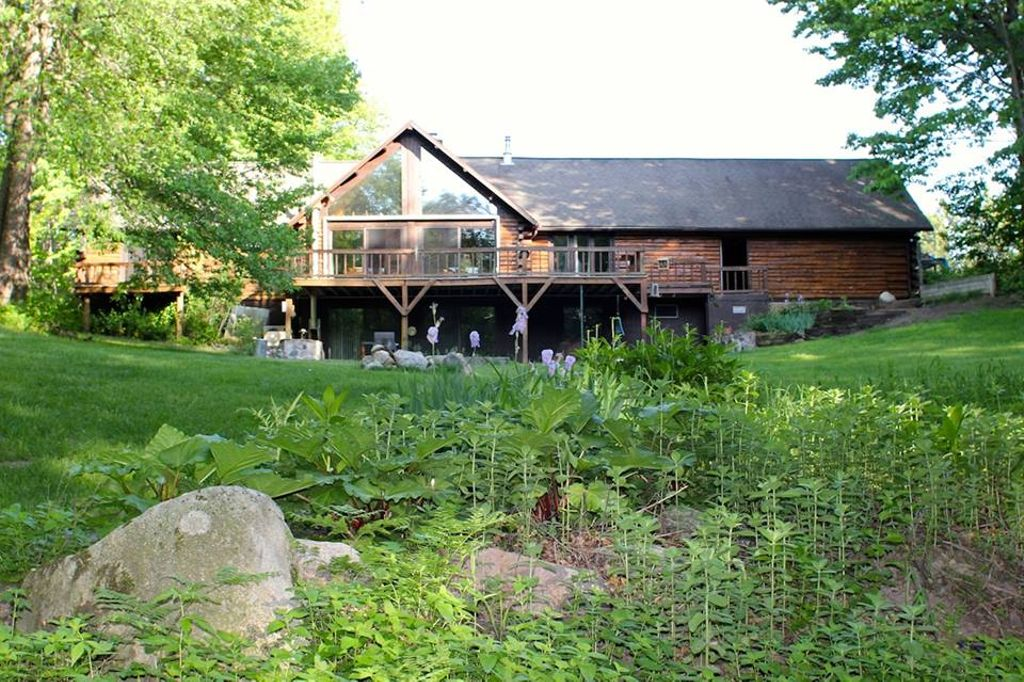 Stay in a luxury lodge near Manistee National Forest, Michigan