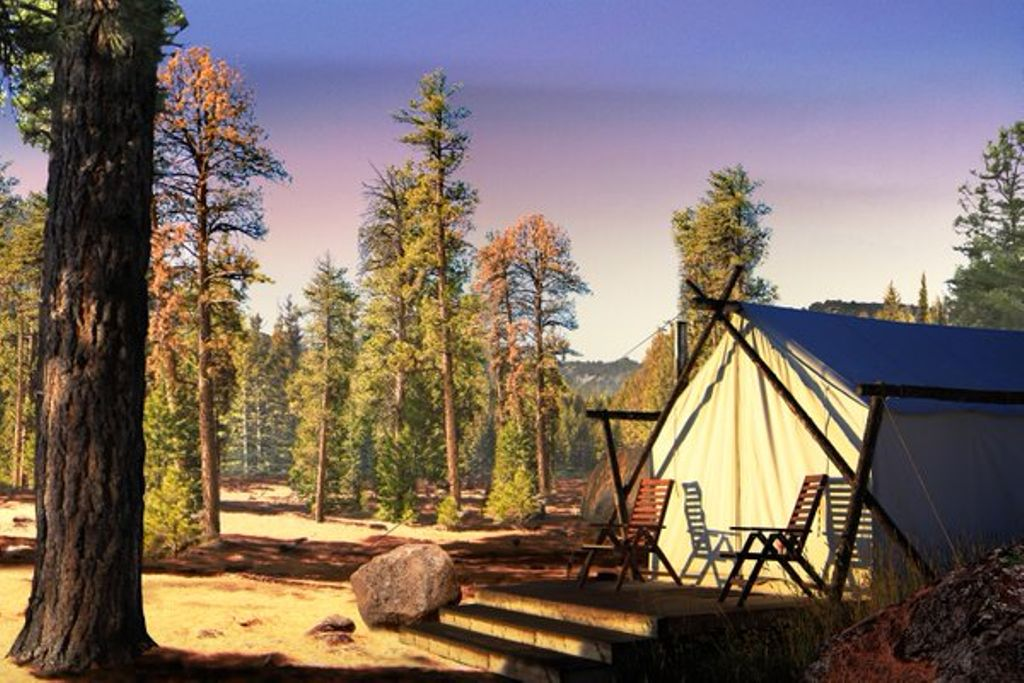 unique gift ideas for friends include tent rental in the Grand Canyon