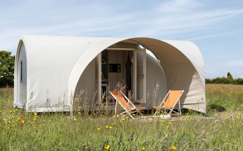 perfect tent rental for luxury camping italy