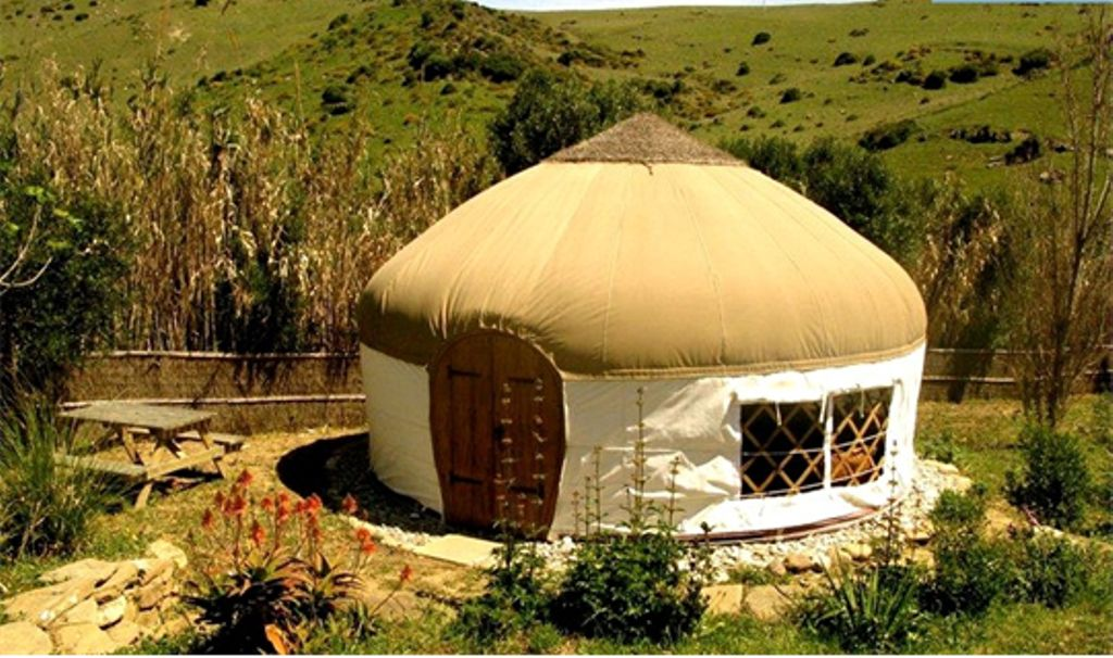 Spanish yurt on luxury campsites, Spain: Tarifa surfing nearby