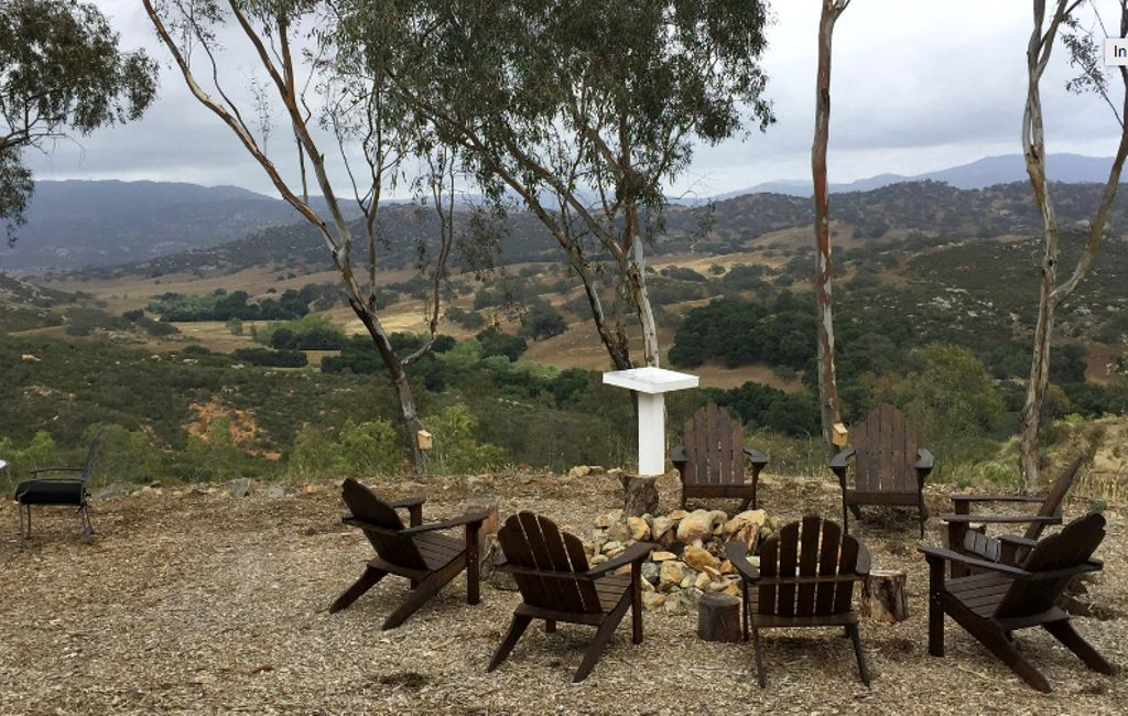 view from romantic weekend getaways and top holiday destinations 2020 for California glamping