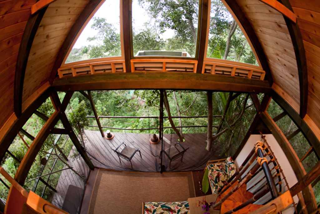 Oahu hotels won't compare to a luxury tree house Hawaii can provide you with