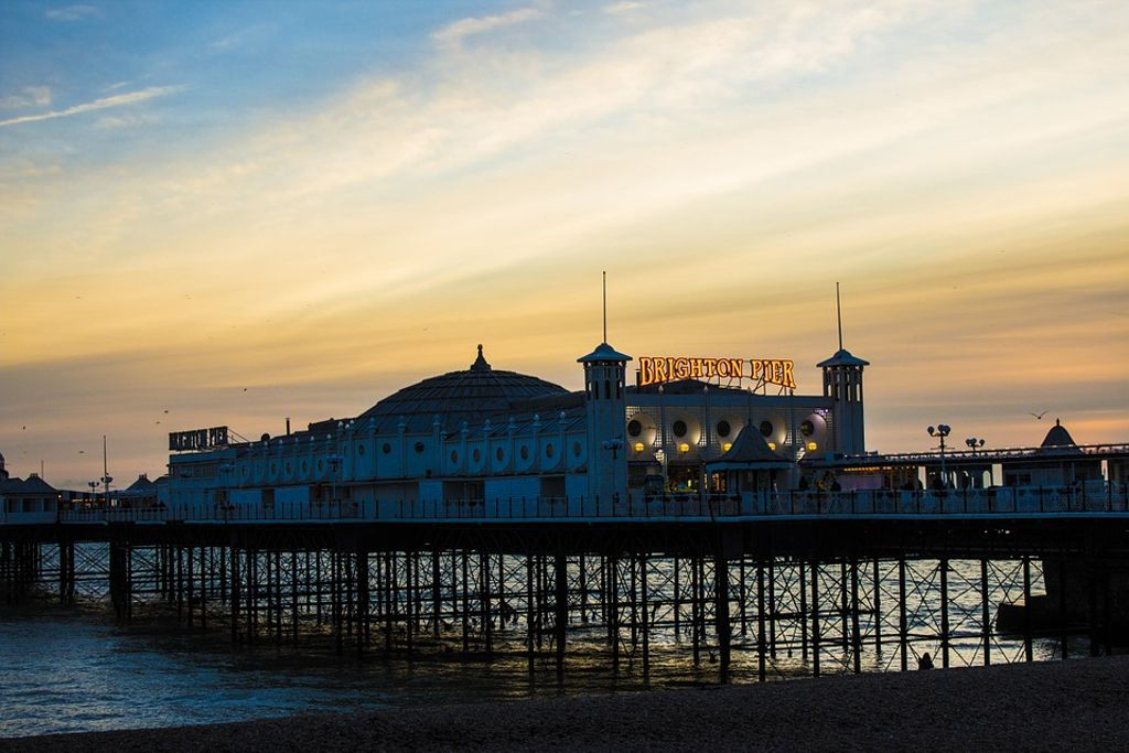 Best places to visit in UK? Brighton Beach is one of the best beaches in England for 2020 holidays