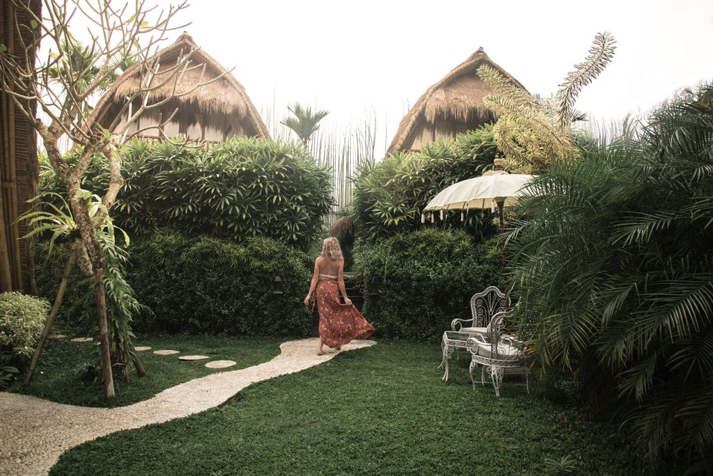 Elegant Tents Tucked Away in Bali, Indonesia