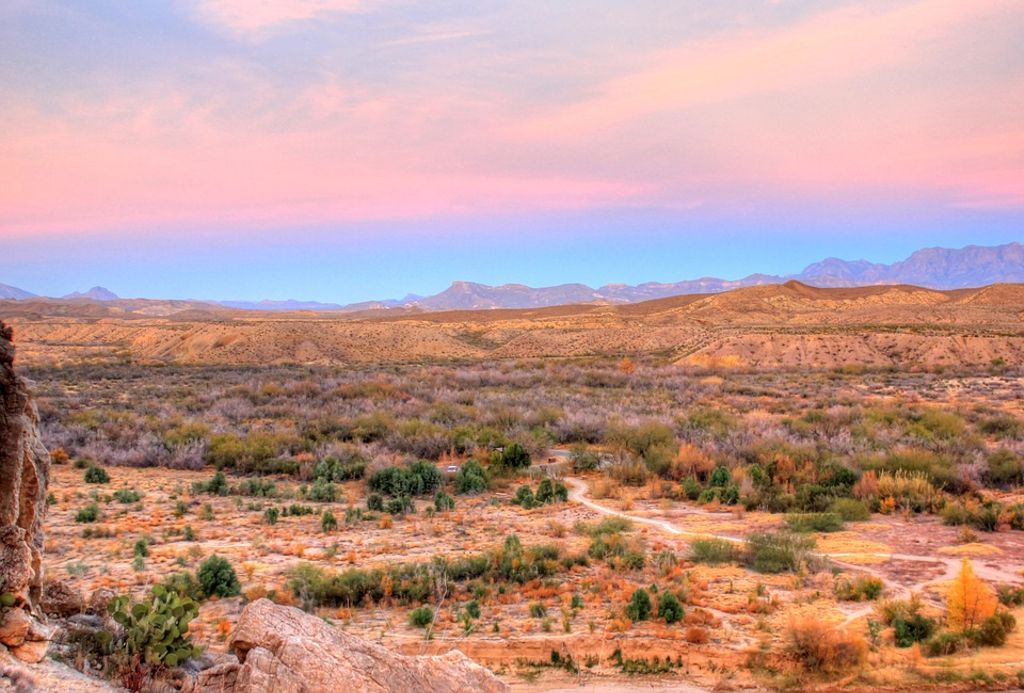 Glamping near Big Bend National Park, Texas