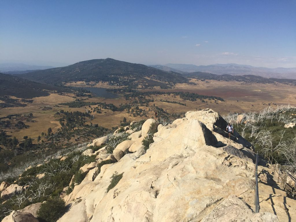 A view from the top of Stonewall Peak hike and another reason to visit Julian, California this year.