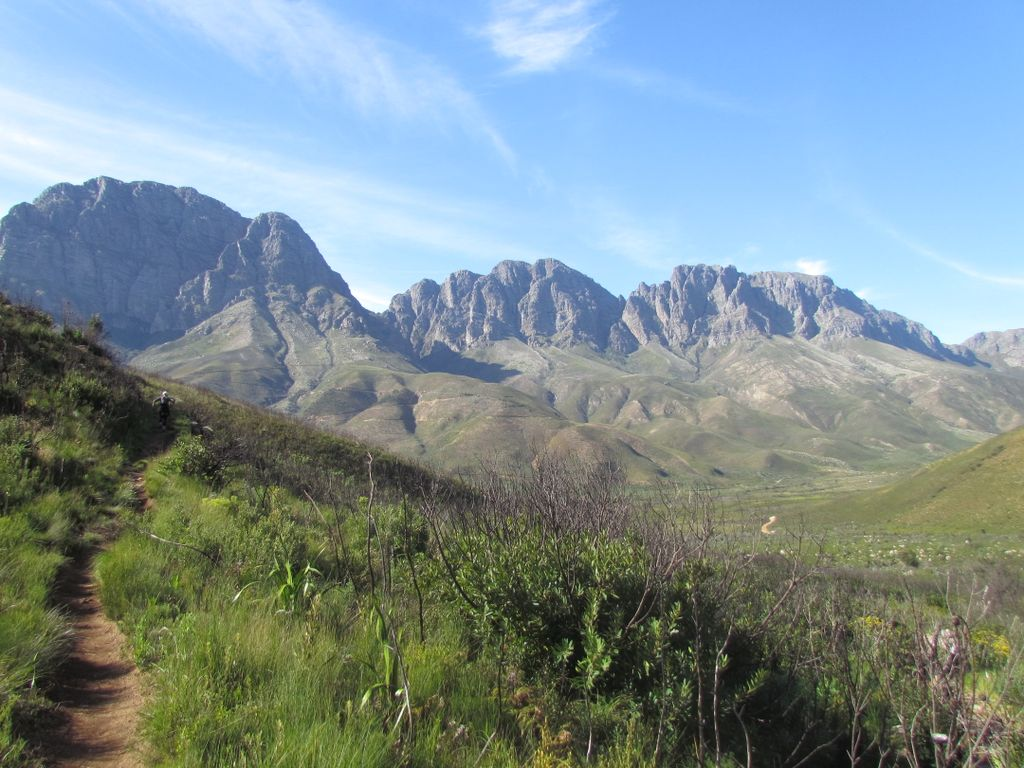 one of the best hiking trails in South Africa with camping getaways nearby in Western Cape