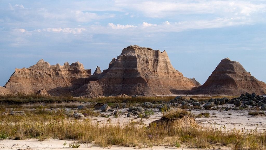 Come for things to do in Badlands National Park, where you can see famous film locations