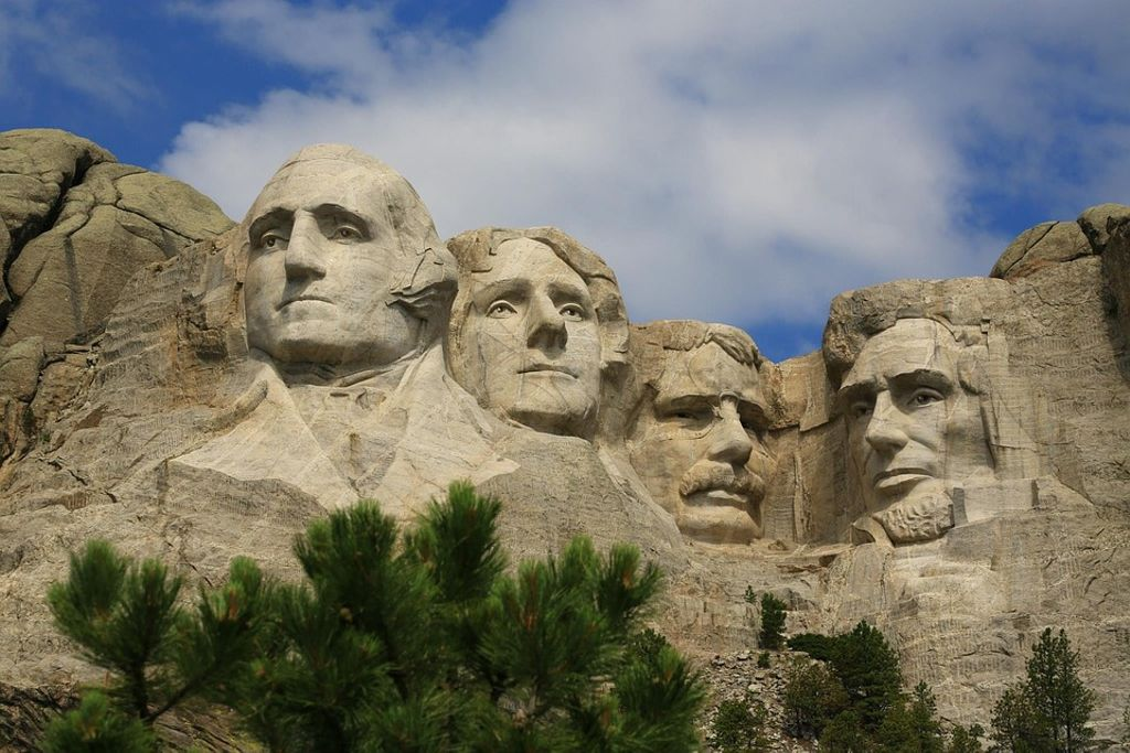This is a photo of Mount Rushmore