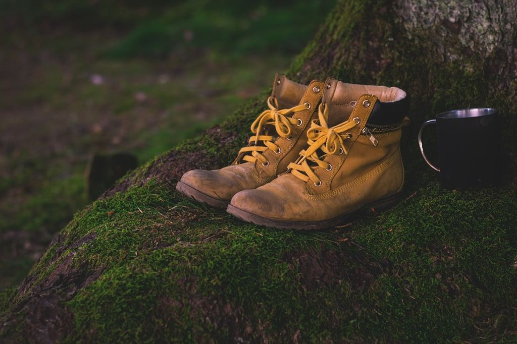 pair of yellow boots in Big Bend National Park: travel guide