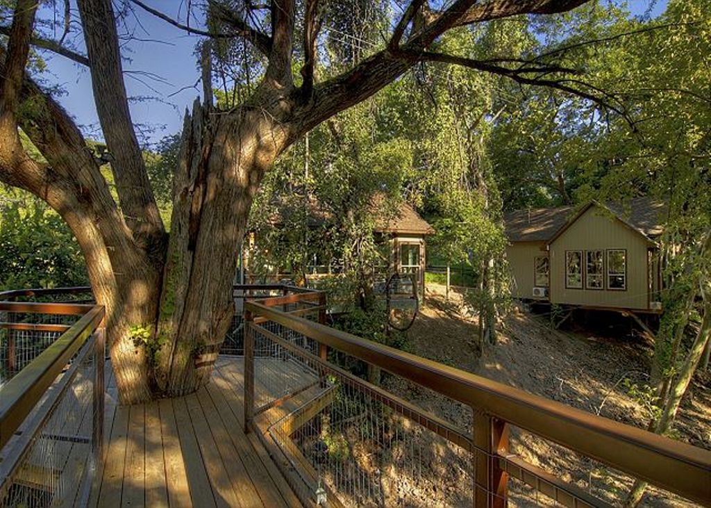one of the best tree house rentals in Texas perfect for family weekend getaways from Austin