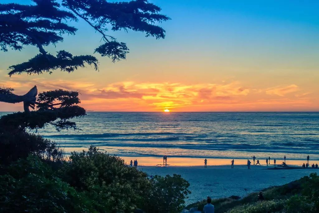San Simeon beach and one of the best West Coast beaches for summer vacations