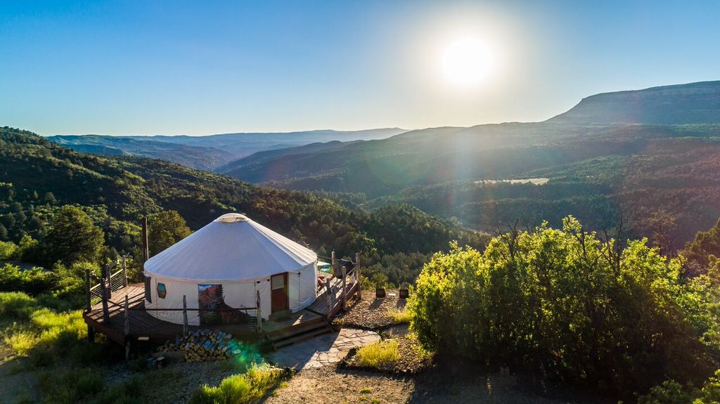 Best travel trends of 2020: yurt camping in California.
