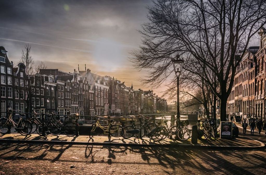 Amsterdam getaways and the bridge during Halloween in Holland
