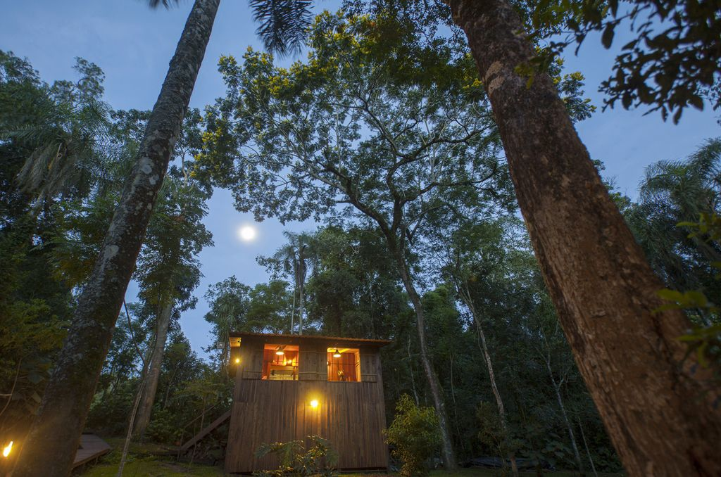 A tree house accommodation for a holiday in Argentina.