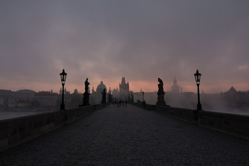 halloween in prague, and the spooky bridges of the Czech Republic