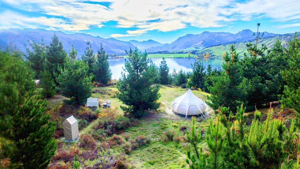Image showing Lake Wanaka accommodation perfect for travelling in December