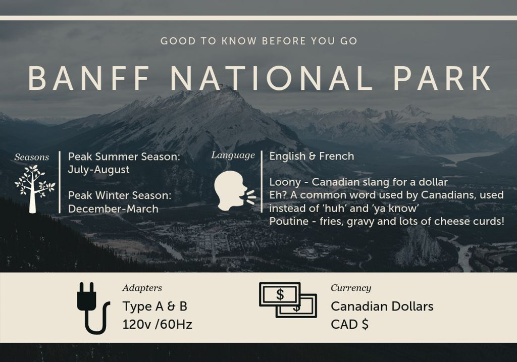 Banff National Park guide for visiting in 2020, with key tips for hiking Alberta