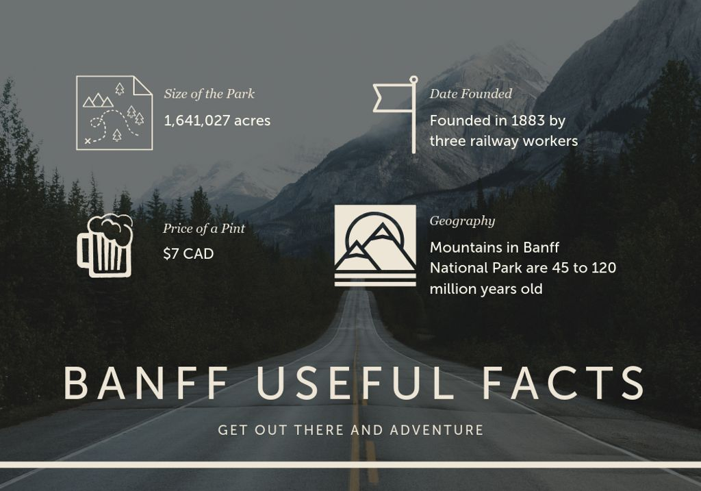 Image of Banff National Park facts and figures you need before hiking Canada