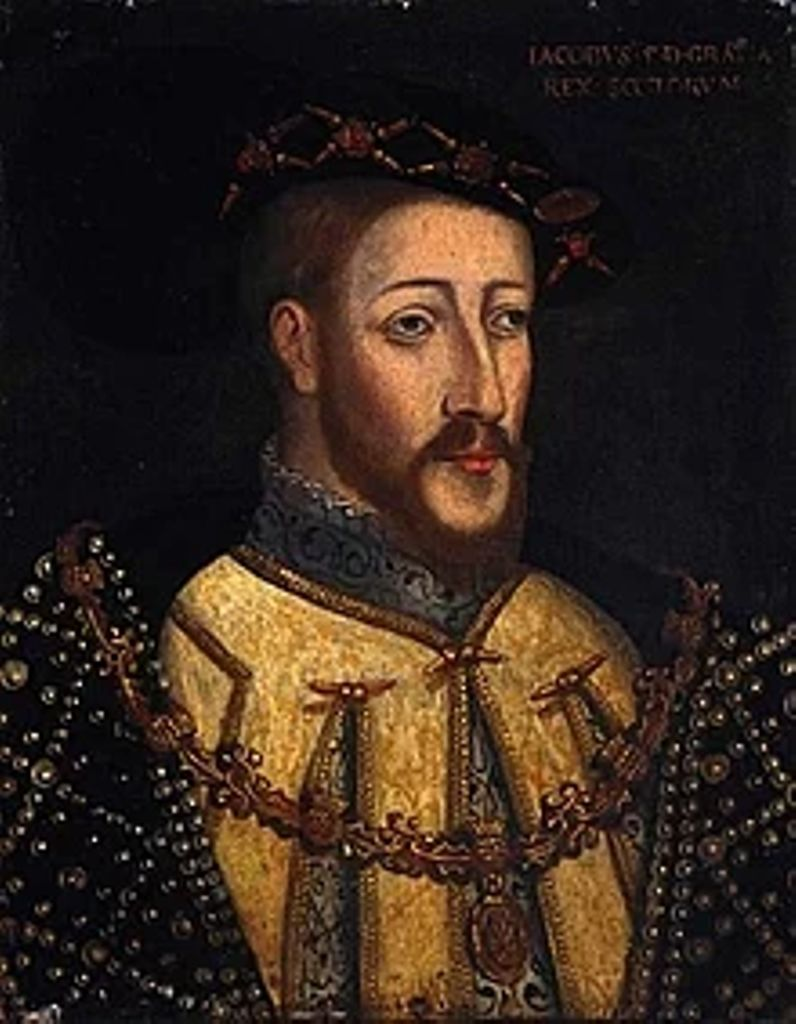 Portrait of King James V of Scotland