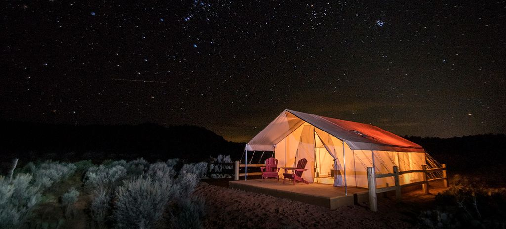 luxury tent rental, Utah and one of the best valentine's day gifts for girlfriend in 2020