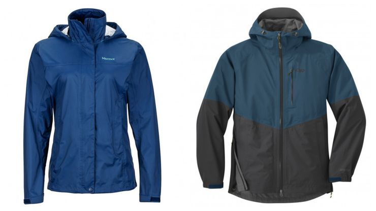 two of the best lightweight rain jacket options for glamping 2020
