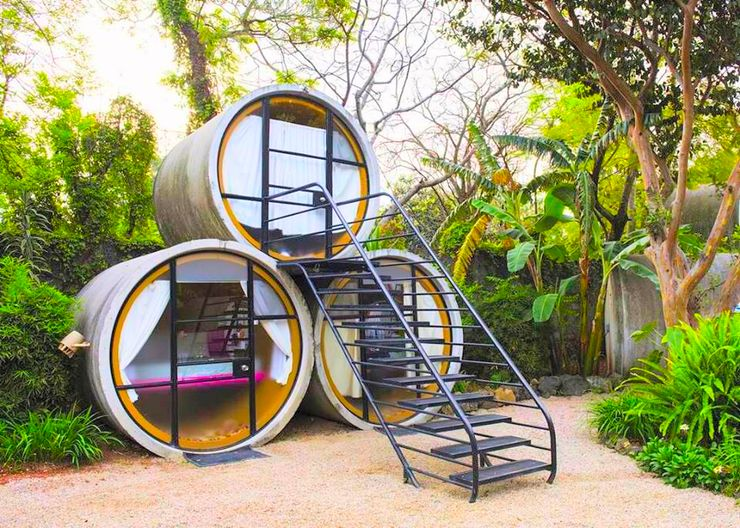 go for the most unique rentals and quirky accommodation with these luxury camping pods Mexico can offer