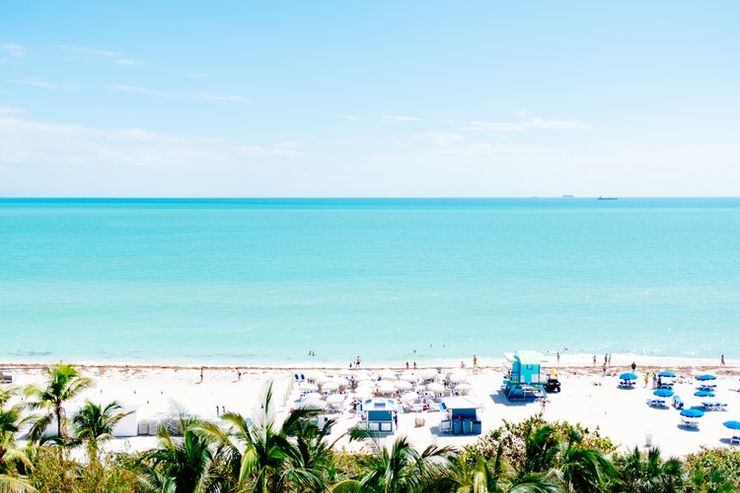 Vacation spots in the US: Miami Beach, FL