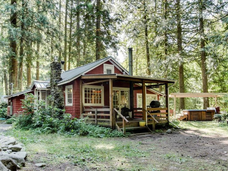 enjoy low cost family vacations at cabins in Oregon