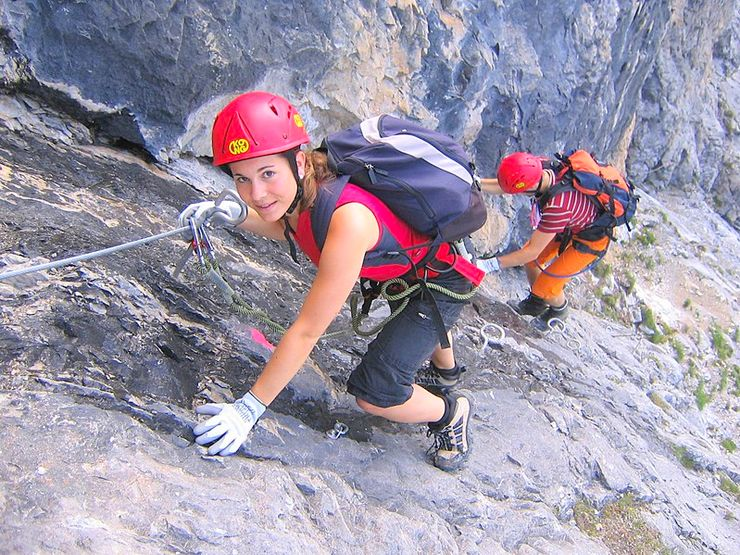 Extreme adventure travel: Via Ferrata in Cumbria, England