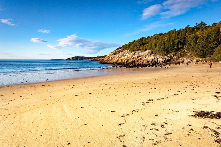 one of the most beautiful beaches in Maine