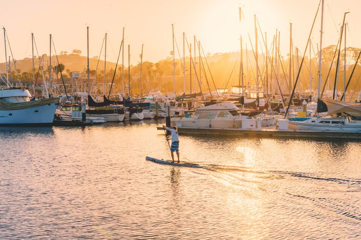 Stand-up paddleboarding: Where and how