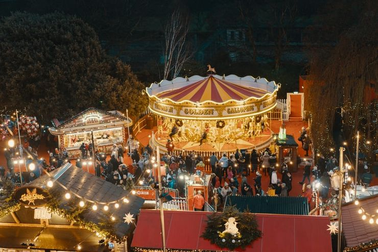 Off-season activities like Christmas markets and harvest festivals